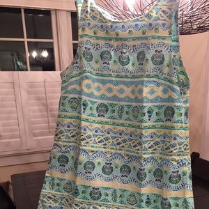 Seashell Sleeveless Sundress by Talbots